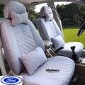 Univeraal tampa de assento do carro Para Ford mondeo Foco Fiesta S-MAX Borda Explorador Taurus preto/cinza/vermelho/azul ACESSÓRIOS