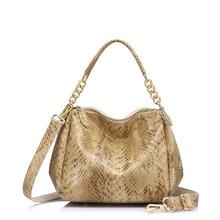 Женская сумка из натуральной кожи REALER