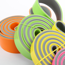 Dual Color Resistance Bands Pull Up Assisted Band Loop for Pull-ups Stretching Exercise Unisex Rubber Fitness Gym Exercise