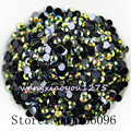 5000pcs/bag,SS16,4mm,Nail Art,Olive green,Jelly AB resin flatback crystal rhinestone,phone case,use glue,nails,Decoration