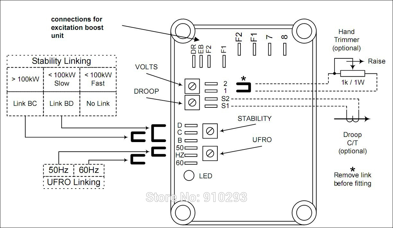 Stamford alternator connection diagram wiring library as440 single 3 phase voltage regulator universal ac diesel rh aliexpress com john deere alternator wiring diagram stamford alternator wiring diagram manual cheapraybanclubmaster Gallery