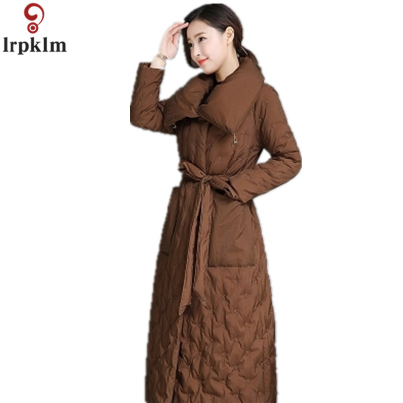 Down   Parka Women's Winter Long Jackets 2018 New   Coat   For Ladies Thickened Warm   Down     Coats   Plus Size Loose   Down   CH538