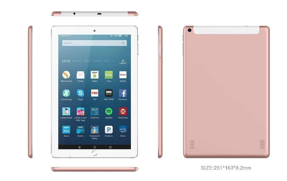 BDF חדש 10.1 אינץ Tablet Pc אוקטה Core 1920*1200 IPS אנדרואיד 7.0 4GB RAM 64GB ROM 3G שיחת טלפון Dual SIM כרטיס Tablet 7 8 9 10 Tab