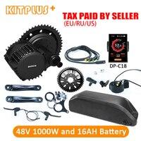Bafang BBSHD 1000W 48V Electric Bike Motor 1000W Electric Kit for Bike with 48V Battery Li ion 16AH