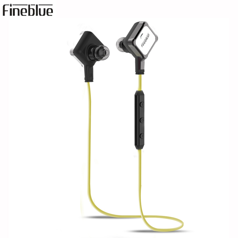 Original FineBlue FA-90 Bluetooth Headset Magnet Wireless Earphone Smart One Drag Two Earbuds For Android IOS Windows Phones leegoal mini earphone headset car charger 2 in 1 driver wireless bluetooth earphone for apple smart phone ios android