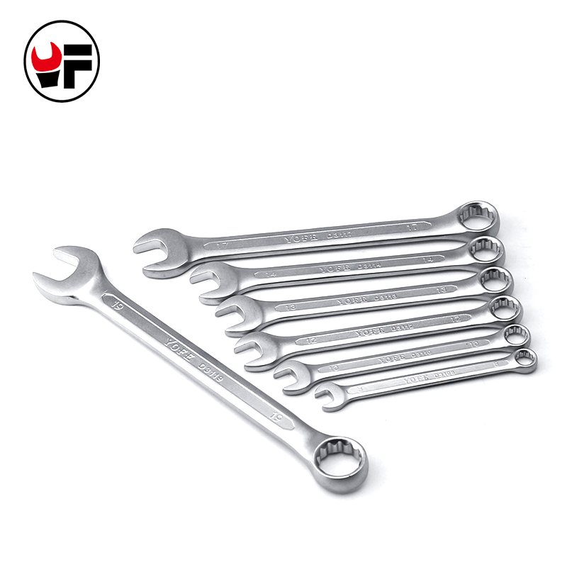 8,10,12,13,14,17,19mm combination wrench set hand tools for car kit a set of keys el aletleri herramientas de mano D6120