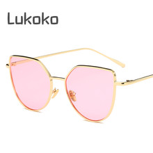690afb3257b Ladies Cat Eye Gozluk Kadin Erkek Shades ladies Glasses Women Lunettes  Cateye Sun Glasses Female Luxury Italy Brand Sunglasses