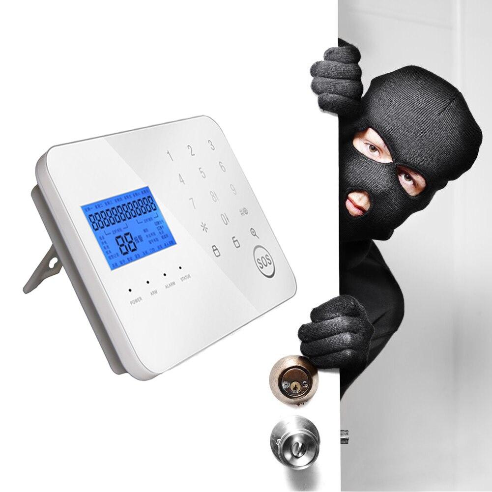 Tocco PSTN/GSM Dual Rete Intelligente Antifurto Allarme WL JT 99CS Wireless GSM Sistema di Allarme per Uso di Sicurezza Domestica