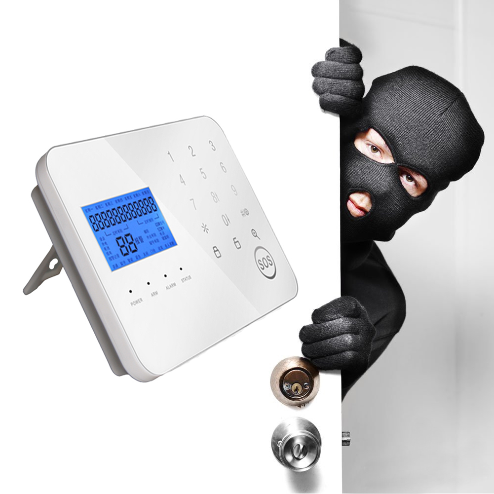 Touch PSTN/ GSM Dual Network Intelligent Anti-Theft Alarm WL-JT-99CS Wireless GSM Alarm System for Home Security Use wireless smoke fire detector for wireless for touch keypad panel wifi gsm home security burglar voice alarm system