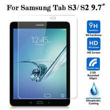 2 pcs/lot 9H Hardness Film For Samsung Galaxy Tab S3 S2 9.7 3S 2S S 3 Tempered Glas Screen Protector