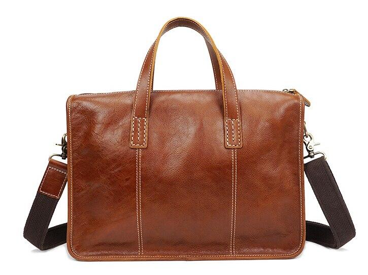 Leather men s handbags briefcases leather casual laptop bags vintage handbags pinepoxp bag