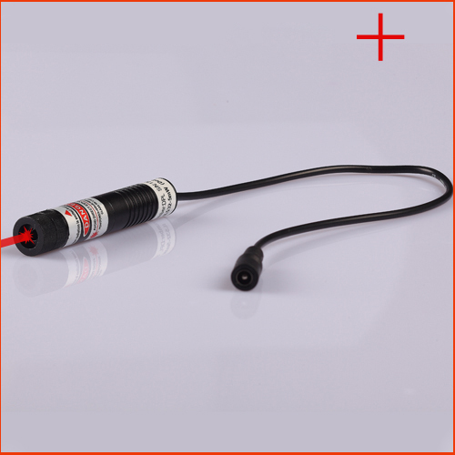 ФОТО 50mW 650nm focusable Cross(Gauss beam) laser alignment with power adapter plug and use 12x50mm