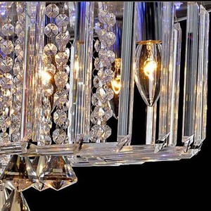 Image 5 - Top selling special price 100% guaranteed large modern brief ceiling crystal chandelier, crystal lighting for living room hall