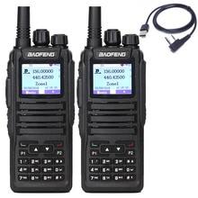 Портативная рация Baofeng, 2 шт., Портативная радиостанция и функция SMS для двух раз, DMR, Digital Tier1 и 2, с функцией USB радио и USB радио для DM 1701, для детей в наличии