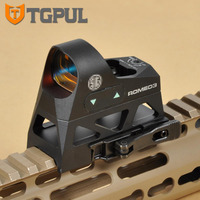 Tactical Micor Mini 1x25 Handgun Rifle Reflex Sights 3 MOA Red Dot With 1913 Picatinny Mount