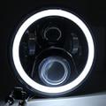 Красный Синий белый angel eyes 7 дюймов led фара для Honda CB400 CB500 CB1300 Hornet 250 600 900 VTECVTR250