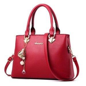 Image 3 - Fgjllogjgso novo 2019 moda tote senhora grande bolsa para bolsas de luxo bolsas femininas designer crossbody sacos de couro feminino bolsa