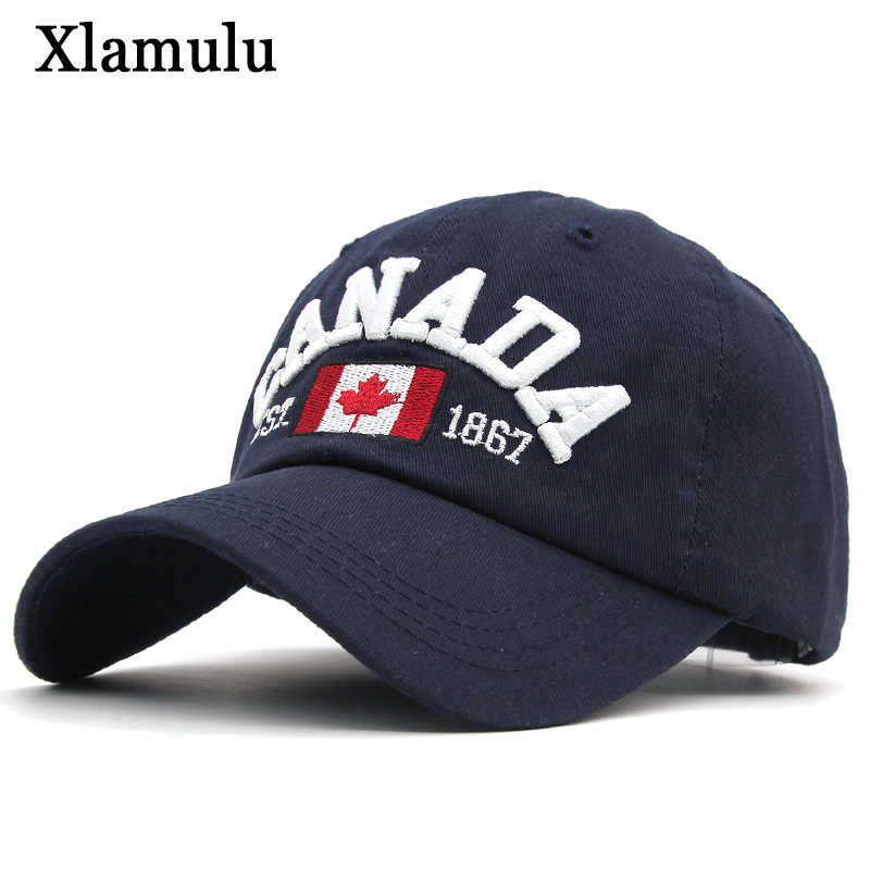 Xlamulu נשים בייסבול Caps כובעי גברים להקת Snapback כובעי רקמת קנדה זכר עצם כובע כותנה Gorras גברים מזדמן Casquette