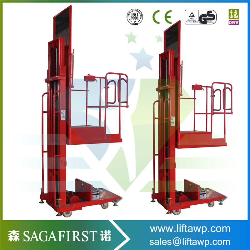 Made In China Semi Electric Aerial Order Picker 3.0m-4.5m