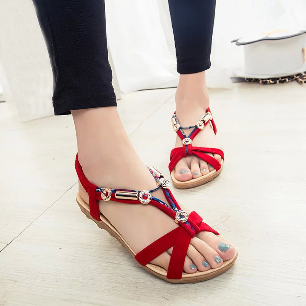 Shoes Woman Sandalias Flip-Flops Beige Stan Shark Black Plus-Size Summer Fashion Mujer