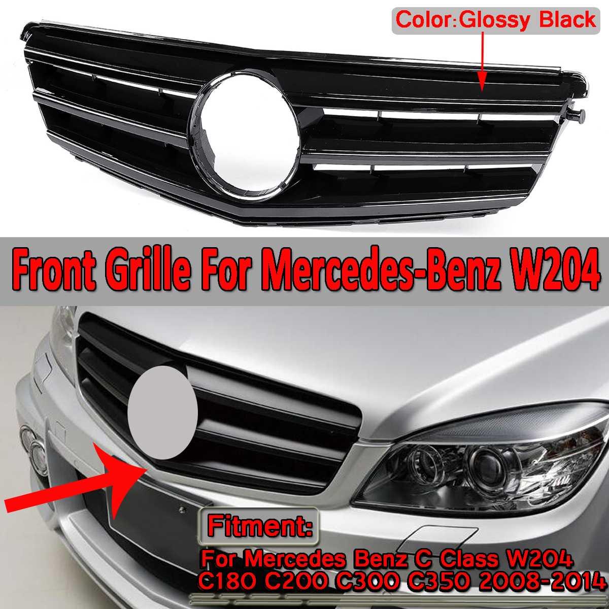 Left Side Fog Light Trim Grille for 2012-2014 Mercedes W204 C250 C300 C350