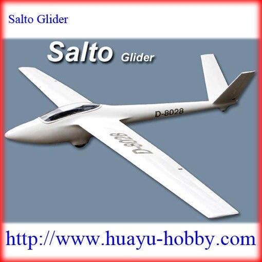 Salto Slope Glider 2680mm Fiberglass fuselage & Balsa wood wings