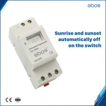 BOOS latest sunrise sunset automatic adjustment electronic timer 110V with 16times on/off per day /weekly time range 1min-168H