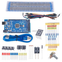 2PCS Lot Mega 2560 R3 Kit For Arduino DIY Basic Tool For Arduino FZ0599 Freeshipping Dropshipping