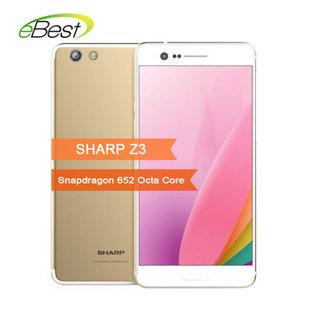 Sharp Z3 Smartphone 5.7 Inch 3100mAh 4GB RAM 64GB ROM Mobilephone Snapdragon 652 Octa Core 16.0MP+13.0MP 4G LTE Android Celphone smartphone