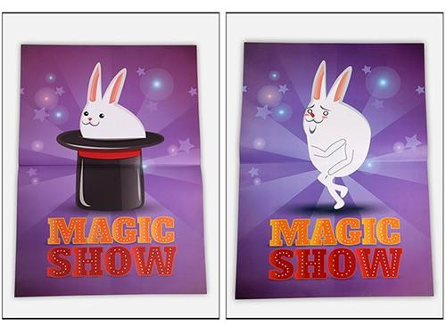 Chapeau haut-de-forme Spectacle de Magie Tours de Magie de Scène de Comédie Magique Chapeau Magicien Apparaissant de Affiche Magia Gimmick accessoires de magie Plaisir Pour Magicans
