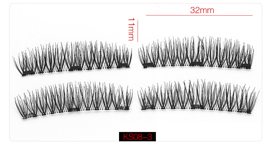 3d Magnetic False Eyelashes (12)