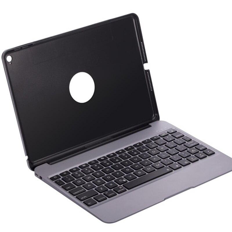 bilder für Ultra slim aluminiumlegierung-metall drahtlose bluteooth tastatur case für apple ipad air 2 ipad 6 smart schutzhülle case farbe ändern