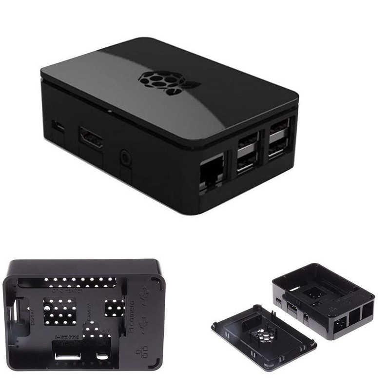 Framboise Pi 3 étui de protection housse de protection noir/blanc housses pour framboise Pi 3 modèle B + Plus framboise Pi 2