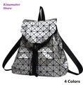 ГОРЯЧИЕ Женщины рюкзак геометрическая плед рюкзаки для девочек-подростков BAOBAO baobao рюкзак сумка bolsa mochila Бесплатная Доставка