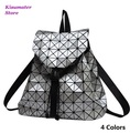 HOT Women backpack geometric plaid backpacks for teenage girls baobao backpack bag   bolsa mochila BAOBAO Free Shipping