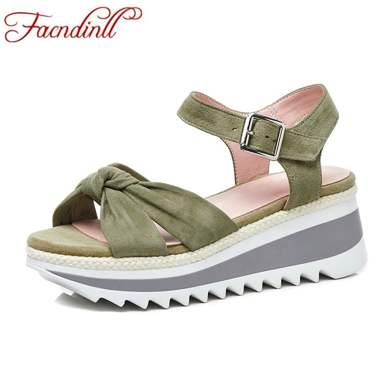 FACNDINLL fashion summer flat shoes woman platform sandals 2018 new wedges high heels open toe women casual date dress sandals facndinll new women summer sandals 2018 ladies summer wedges high heel fashion casual leather sandals platform date party shoes