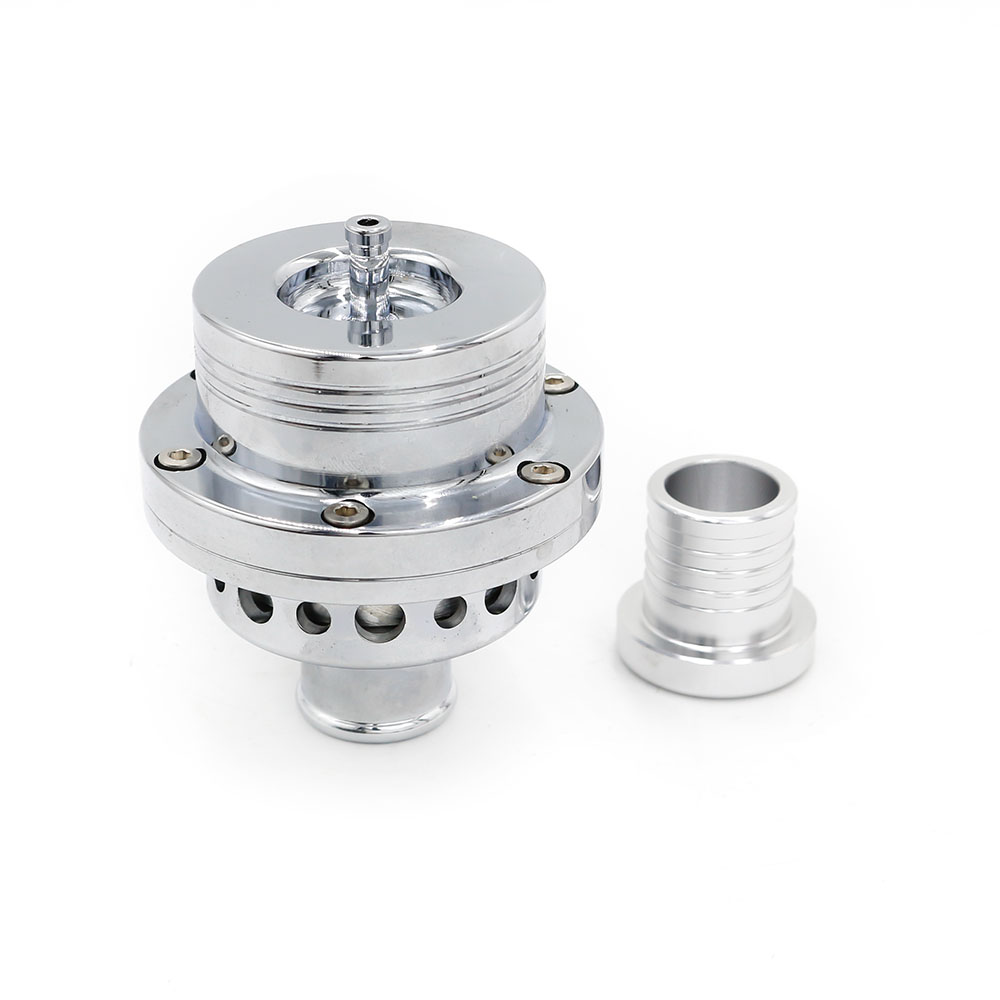 25 MM Dual Piston Atmosfer VTA Blow off valve BOV untuk Audi A4 S4, VW Golf Jetta (blow off adaptor) / blow dump TT100365