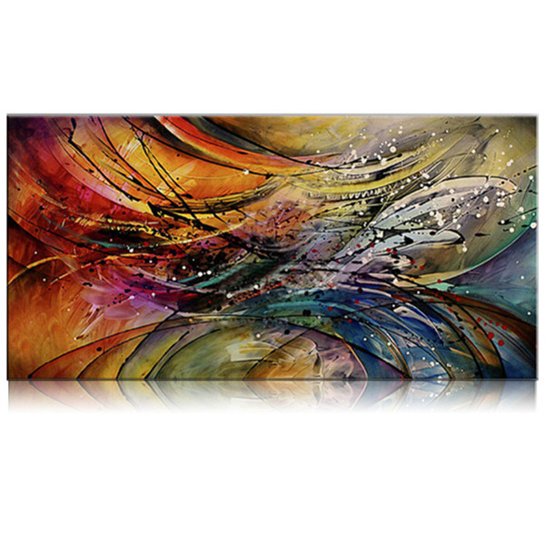 Hand Painted Colorful Abstract Oil Painting on Canvas Modern Wall Decoration Art Picture Handmade Acrylic Paintings For SaleHand Painted Colorful Abstract Oil Painting on Canvas Modern Wall Decoration Art Picture Handmade Acrylic Paintings For Sale