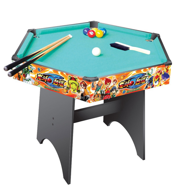Snooker Tablehexagon Style Tablecolour Painting Pool Gamemiddle - Hexagon pool table