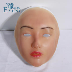Eyung Sophia Angel Face Silicone Mask Crossdresser Masquerade Shemale Cosplay Sissy Boys Female Masks For Drag Queen Makeup Diy