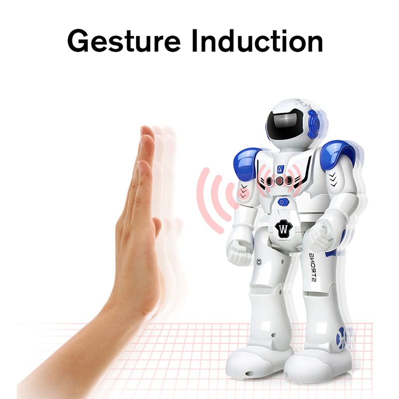 Image 3 - DODOELEPHANT RC Smart Robot Remote Control Robot Toy Action Figure With Gesture Function Toy For Boys Children Birthday Gift-in RC Robot from Toys & Hobbies
