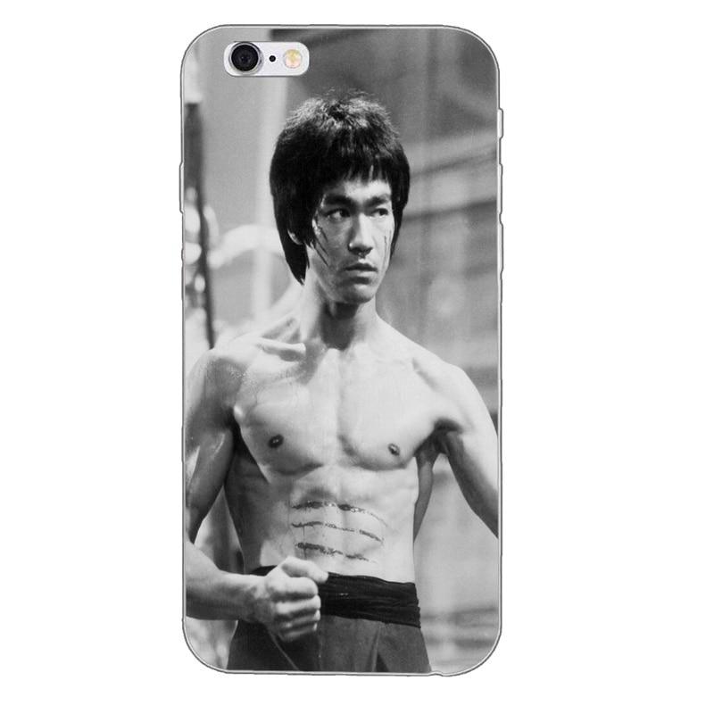Bruce Lee Silicone TPU Soft Phone Case
