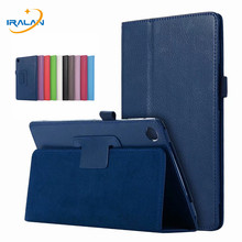 2018 new Hot Litchi Flip stand PU Leather Case For Huawei Mediapad M5 8.4 SHT-AL09 SHT-W09 Smart Slim Tablet PC Cover+film+pen