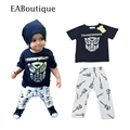 EABoutique Summer hip pop style sports suit  fashion baby boy clothing set boys tracksuit