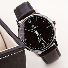 Best seller factory price Mans Womens Fashion Ultra-thin Casual Wrist Watch Leather Quartz Watch relogio feminino Aug17