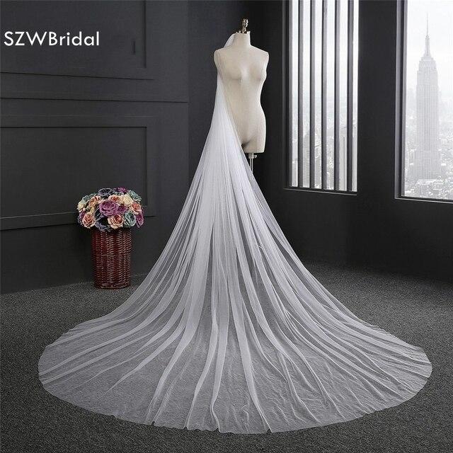 New Arrival  Meter Bridal Veil  Sluier Wedding Accessories Wedding Veil Edding Veil Veu De