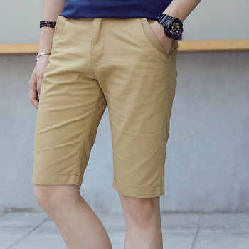 Summer Men Clothing Brand Pure Color Cotton Shorts Mens Casual Fashion Shorts Male Slim Fit Short Pants Plus Size 28-40 Homme - DISCOUNT ITEM  45% OFF All Category