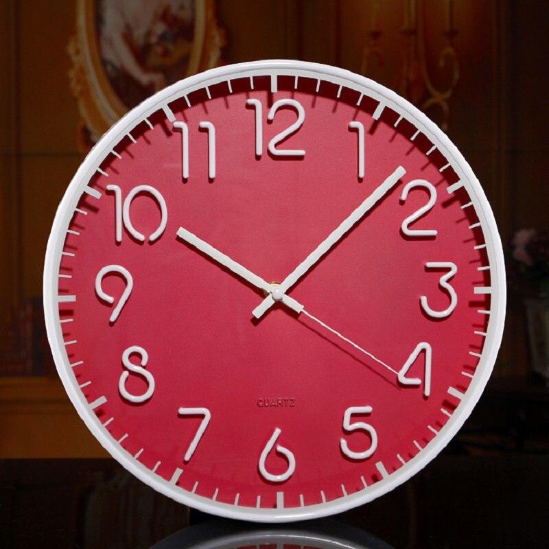 modern wall clock home decor saat relojes pared decoracion