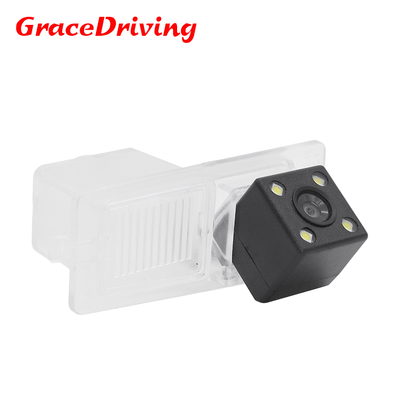 Highest nightvision 4 <font><b>leds</b></font> CCD HD waterproof backup reverse parking car rear view camera for SsangYong <font><b>Kyron</b></font> Rexton II