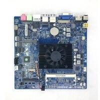 17x17cm ITX motherboard Onboard CPU Intel Celeron N2810 2.00GHz DDR3L Mini PCI E mSATA HDMI VGA 6x USB WiFi 12V 5A